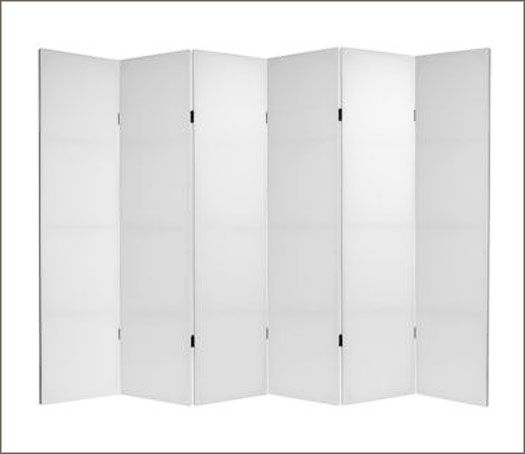 Blank Folding Canvas Room Screen For D I Y Decorating