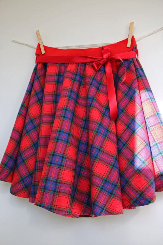 1950s skirt women skirt winter skirt full circle skirt
