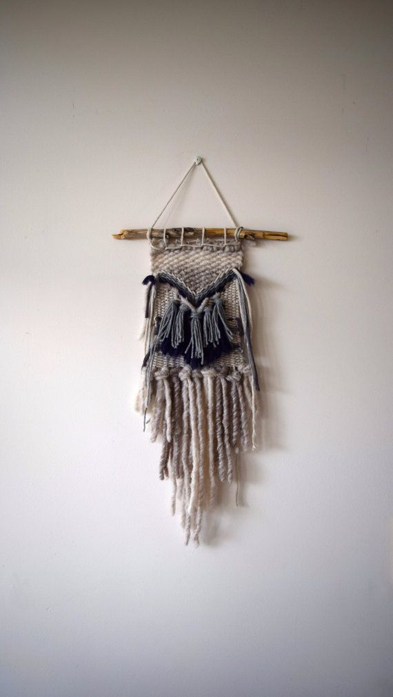 Hand Made Woven Wall Hanging
