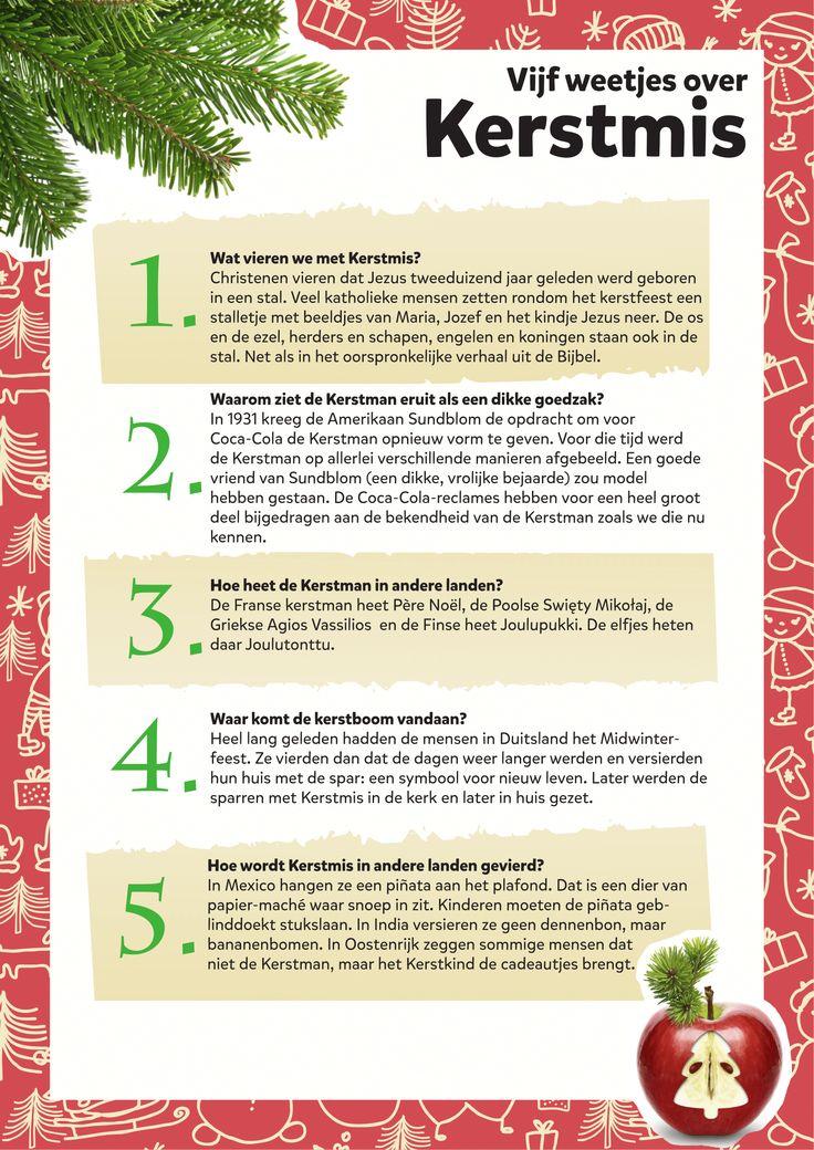 Vijf weetjes over kerstmis uit het Squla kerstvakatieboek
