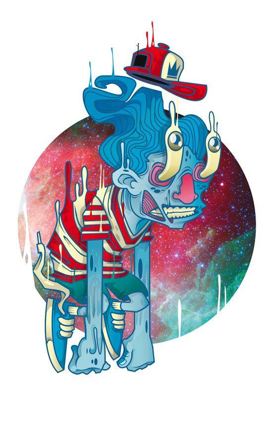 Cool illustrations by Neto Zamora