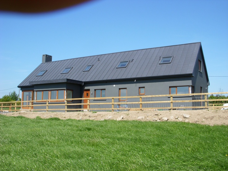 Zinc roofing.