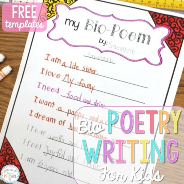 poetry templates for kids - 35 best poetry images on pinterest teaching handwriting