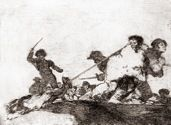 Goya The Disasters of War Slaughterhouse