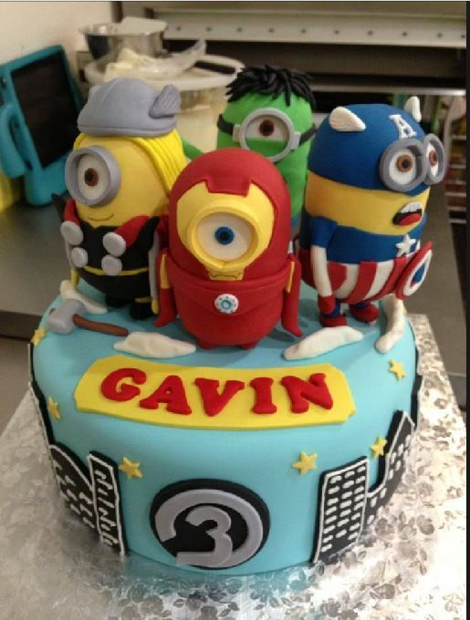 Awesome cake for boys