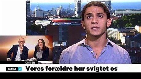 VIDEO Digteren Yahya Hassan: Jeg blev opdraget med tæsk | Kultur | DR