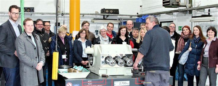 Unternehmerverband und Stadt Duisburg luden zur gemeinsamen WOMA Betriebserkundung ein