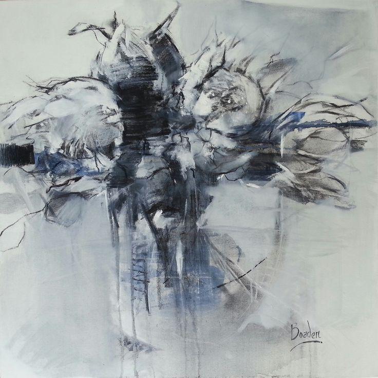 Sharleen Boaden 'Homegrown' 80x80cm oil and charcoal on canvas. www.sharleenboaden.com