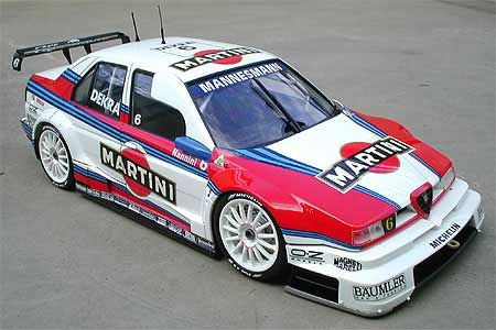 Alfa Romeo 155 V6 TI DTM - when DTM was so cool !