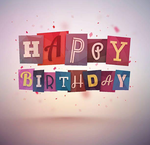 Joyeux anniversaire - Illustration vectorielle