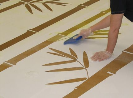 Acid etching upon concrete gardening pinterest etchings for How to clean unsealed concrete floors
