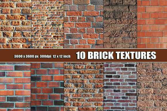 RED BRICK WALL BACKGROUND TEXTURE by Area on Creative Market