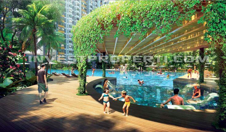 Swimming Pool @ Summarecon Bekasi Apartment