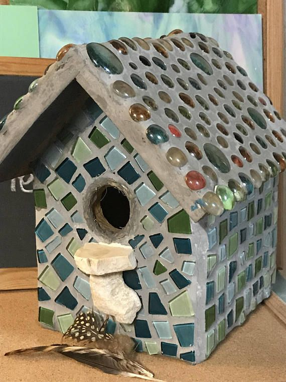 No Place Like Home Birdhouse Decor