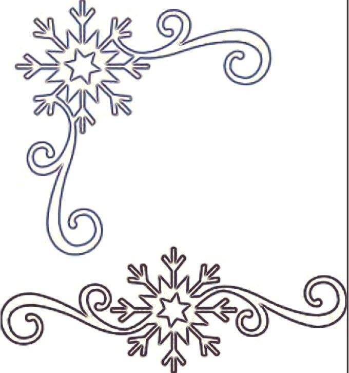новогодние картинки для трафаретов узоры цветов сальвии
