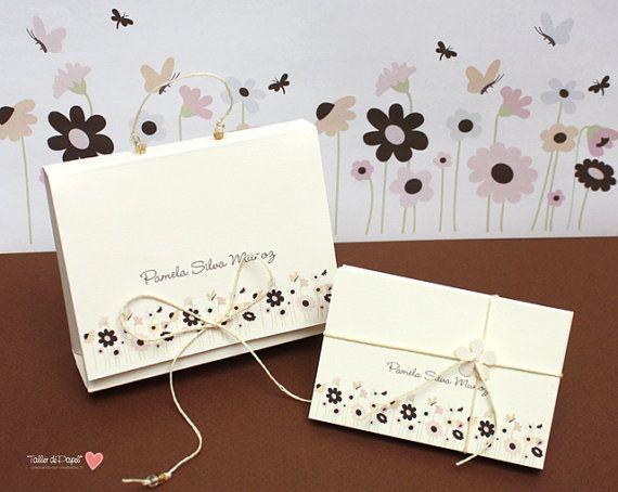 Set de Tarjetas Personales en lindo empaque de by porTallerdePapel, $16.00