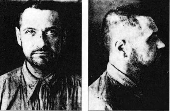 Eugeniusz Bodo was a film director, producer and one of the most popular Polish actors and comedians of the inter - war period. He was starved to death on his way to a remote soviet GUŁAG camp, in Kotłas. He was declared dead on 7 October 1943 ( this is his last photo).