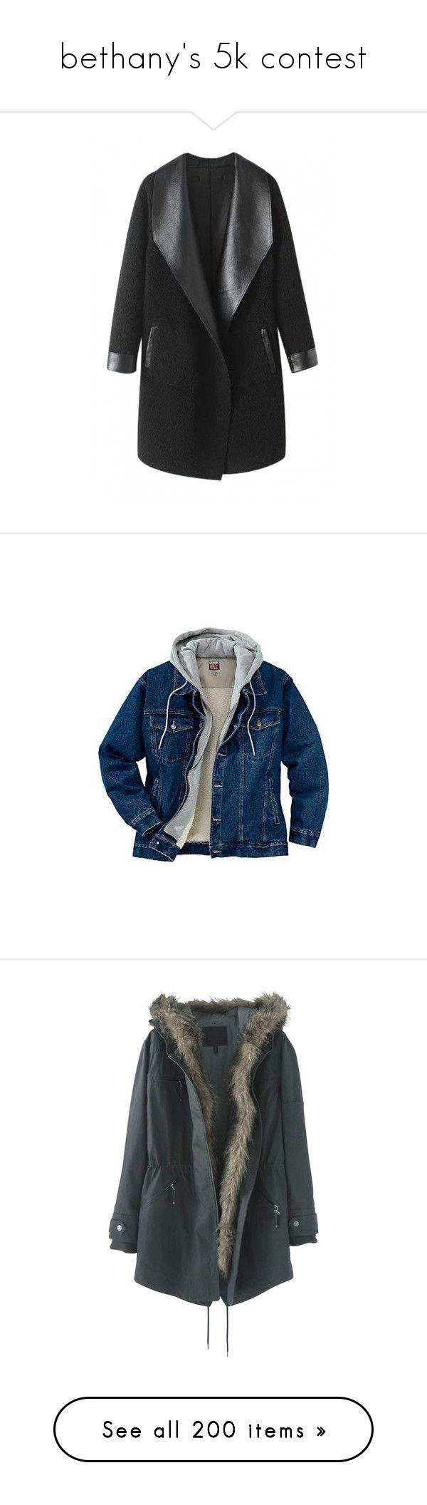"""bethany's 5k contest"" by brdfrdzen ❤ liked on Polyvore featuring TalisLittleTag, gottatagrandomn3ss, kikitags, outerwear, coats, jackets, coats & jackets, casaco, lapel coat and imitation fur coats"