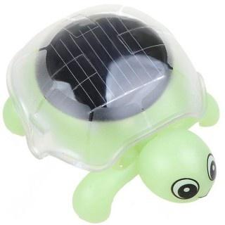 Cute Solar Energy Powered Crawling Turtle Tortoise Toy