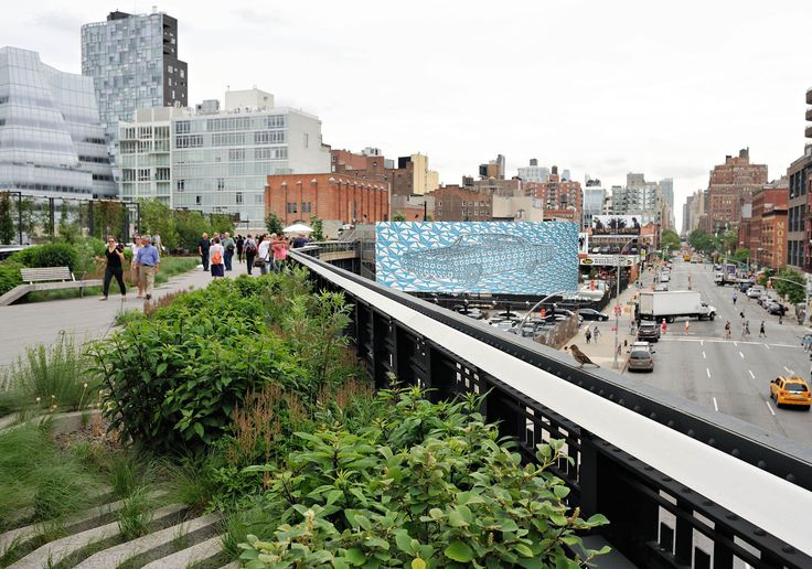 Rendering of Thomas Bayrle, American Dream, 1970. Part of HIGH LINE BILLBOARD, Edison Properties, West 18th Street at 10th Avenue, New York. On view October 1 – 31, 2012. Photo courtesy the artist and Friends of the High Line.