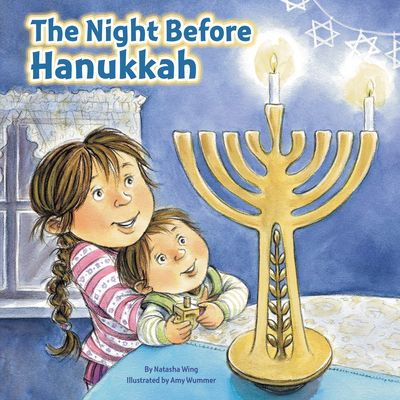 The newest title in the bestselling Night Before series is the perfect gift for every girl and boy who celebrates Hanukkah! It's the night before the eight-day celebration of Hanukkah begins, and everyone is excited! Each evening, the family gathers to light the candles and share holiday traditions such as playing dreidel, eating latkes, and exchanging gifts. The seventeenth title in Natasha Wing's bestselling series, The Night Before Hanukkah captures all the joy and love in one of the most…