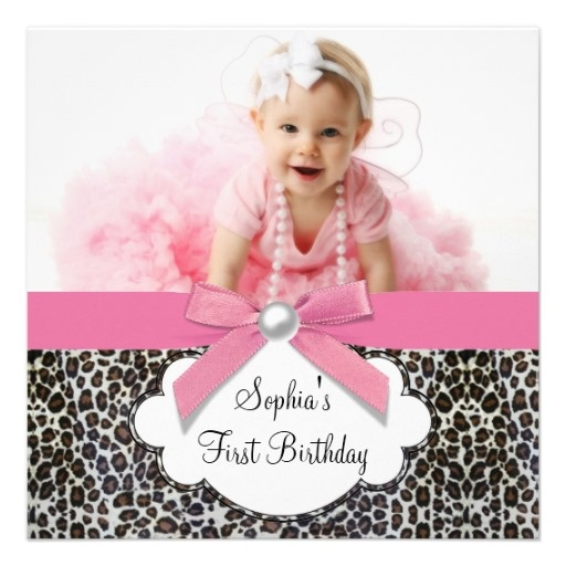 The 25+ best Leopard birthday parties ideas on Pinterest Leopard - first birthday invitations templates
