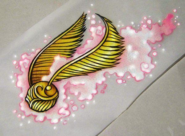 Golden Snitch Commission by 16Shokushu on deviantART