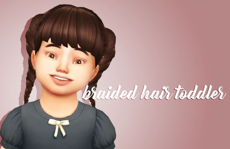 """crazycupcakefr: """" Hello everyone! So I am back with this cute very simple hairstyle for you toddlers! I hope you will enjoy! • BASE GAME COMPATIBLE • 9 swatches • HAT COMPATIBLE DOWNLOAD AT MY BLOGGER..."""