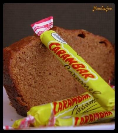 DESSERTS   Cake aux Carambars (Sophie Dudemaine): Ingredients: -20 Carambars -150g butter -150g flour -120g sugar -3 eggs -10cl milk -1/2 sachet baking powder -3 pinches salt; Bake: 40min 180°C