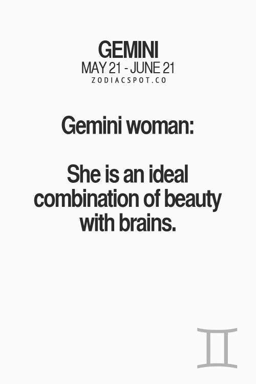 Gemini Woman facts
