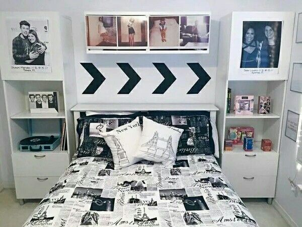 One Direction Diy Room One Direction Bedroom One - Ideas De Habitaciones Juveniles