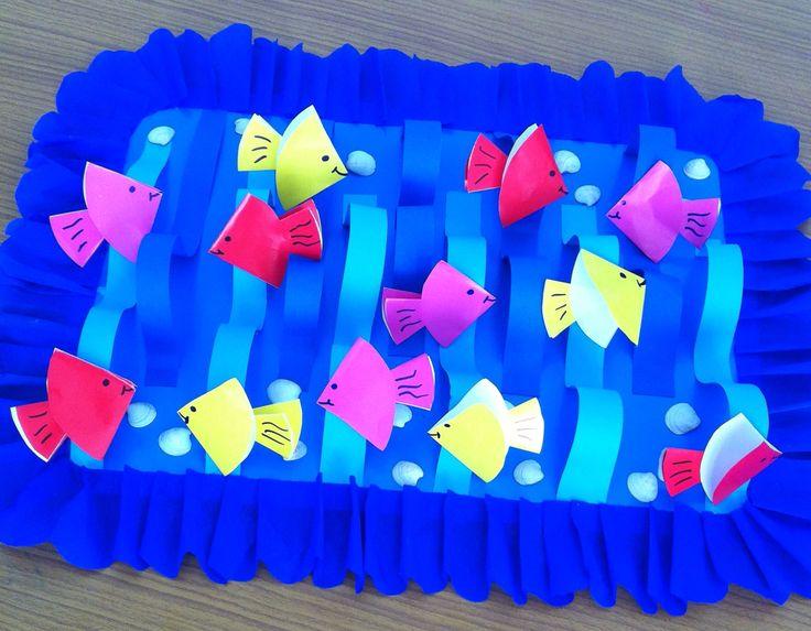 Kağıt katlama balık