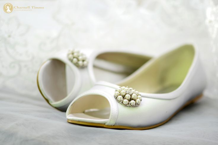 Wedding flats as worn by Natalie. Photographed by Charnell Timms