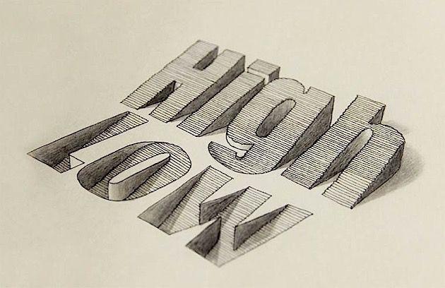 Lex Wilson ist ein kreativer Kopf aus Nottingham, UK. Er beschäftigt sich mit unterschiedlichen Arten von Illustrationen, Zeichnungen, Grafikdesign und einer ganzen Menge Typografie. Das hier ist eine Sammlung seiner typografischen Experimente. Und die sin