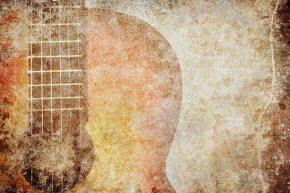 Vintage Grunge Guitar