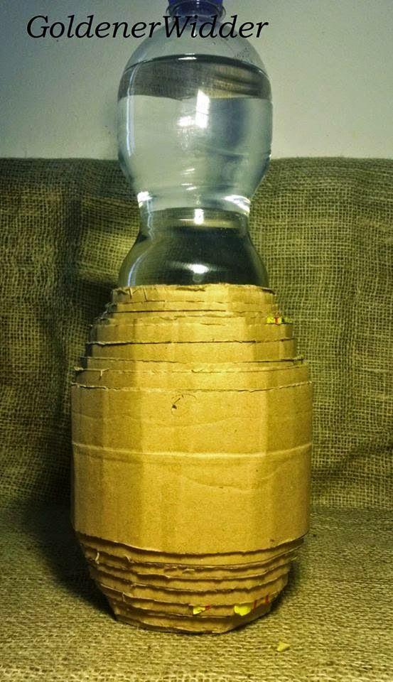 форма бочки для плетения из газетных трубочек