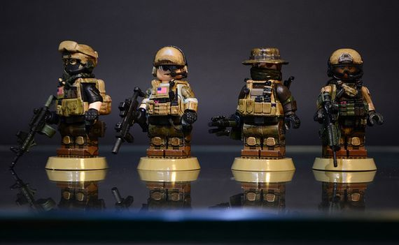Battlefield 4 US Classes...in Minifig form!
