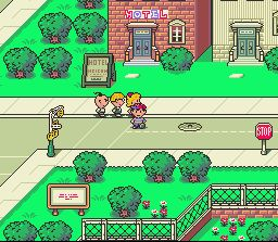 art design in earthbound is one of the best i've ever seen. great game.