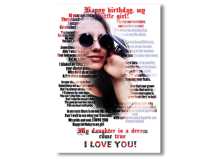 Custom Word Art Text Photo Reinterpreted Into Your Own Special Words #Anniversary Gift #Custom Photo Gift Portrait #Canvas #Art using your #photos and #words. #Canvas #Wall #Decor #Personalized for you or your family using your #photos and words or #vow and #family #sign, great for a #wedding #gift, #engagement gift, #nurserydecor. #DigitalPrintStore on #Etsy