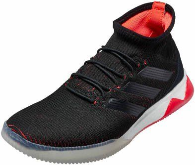 9c9afc9c1 adidas Predator Tango 18.1 TR – Black/Solar Red | Indoor Soccer ...