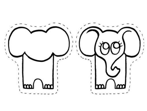 PEQUES Y PECAS...: TITERES DE ANIMALITOS. (para deditos)