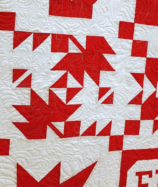 Sesqui Leaf by Jean Boyd in The Canadian Sampler