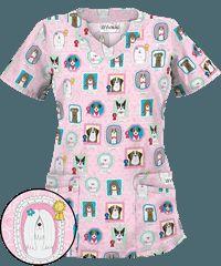 Print Scrub Tops and Print Nursing Scrubs at Uniform Advantage