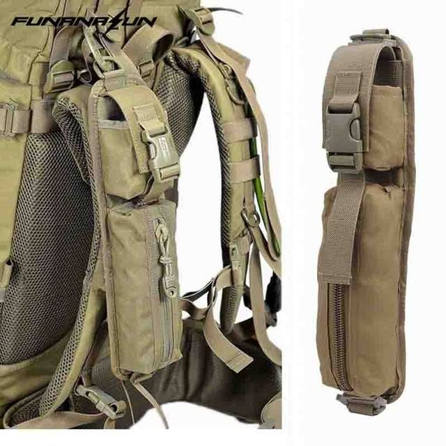 Tactical Molle EDC Accessory Pouch Medical First Aid Kit Bag Sundries Shoulder Strap Rucksack Emergency Survival Gear Belt Bag
