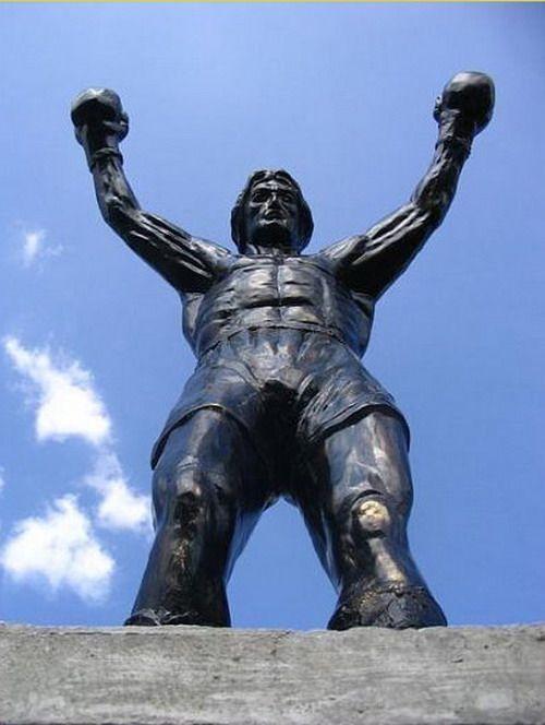 Rocky Balboa Statue.