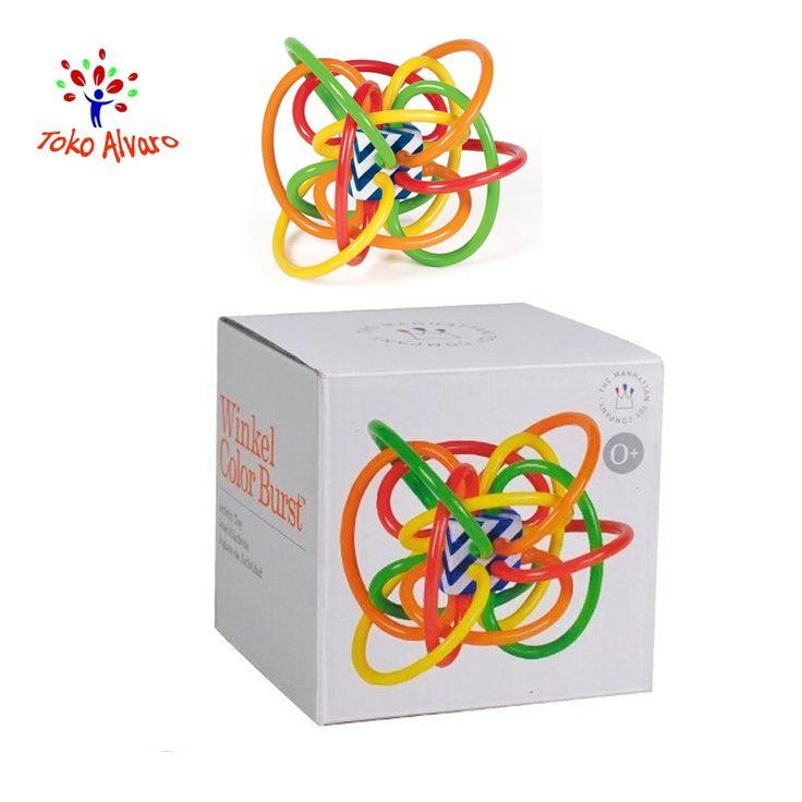 Saya menjual Manhattan toys - Baby Toy Fun Little Loud Bell Ball seharga $92000.00. Dapatkan produk ini hanya di Shopee! https://shopee.co.id/tokoalvaro/92124642 #ShopeeID