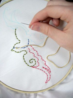 43 Best Free Hand Embroidery Patterns Images On Pinterest