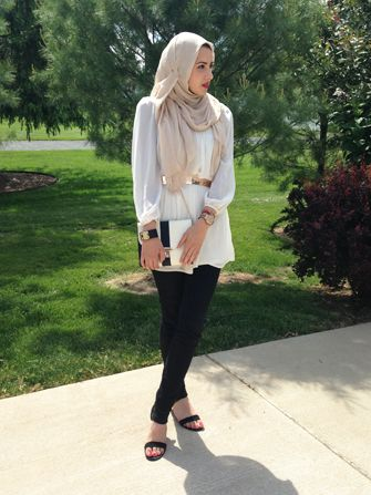 Simply elegant beautiful style that any woman can appreciate - The Blogger Behind Hipster Hijabis On Why Modesty Matters #Refinery29