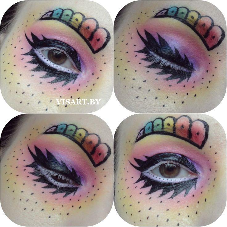 Креативный макияж глаз для стилизованной фотосъемки  #mua #makeup #makeupartist #makeupaddict #makeupideas #makeupmafia #makeuplover #inspiration #creative #sleek #nyx #benefit #inglot #sephora #bbloggers #inspirational #inspire #макияж #макияждлясебя #макияждляфотосессии #макияжминск #визаж #визажистминск #макияжглаз #фотосессия #макияждня #бьютиблог #бьютиблоггер #стилизованныймакияж #vscominsk www.visart.by