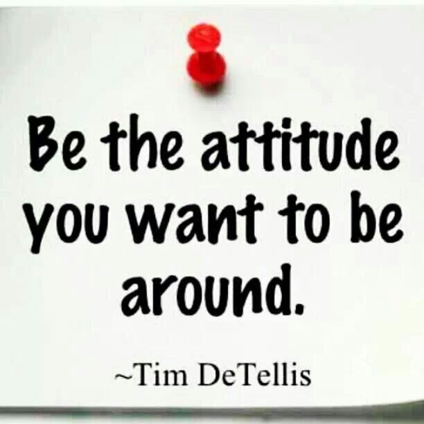 This is just a matter of life attitude